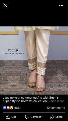 Pants Plazzo Pants, Salwar Pants, Trouser Pants, Salwar Designs, Blouse Designs, Short Frocks, Kids Outfits, Ladies Outfits, Pants For Women