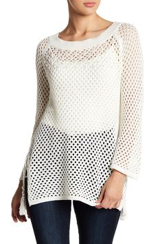 710763761be8 Image of Love Scarlett Embellished Open Stitch Sweater Nordstrom Rack