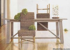 $742.00 Roost Hyacinth Dining Chairs - Set Of 2