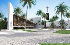 Cancun Cathedral by AVP arhitekti. Contemporary and tropical