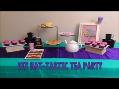 DIY Ever After High Inspired Hat-tastic Tea Party - Birthday Idea