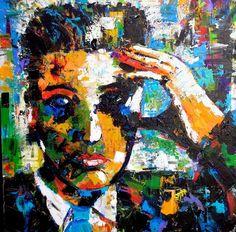 Finalist for EPE's Elvis in 1956 Art Contest: artist Debbie Crawford