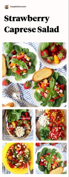 Fresh and easy summer salad Brunch Recipes, Summer Recipes, Easy Recipes, Great Recipes, Easy Meals, Favorite Recipes, Healthy Recipes, Easy Summer Salads, Recipe Share