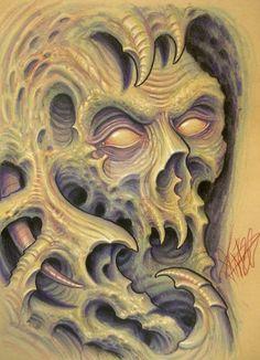 bio organic skull by JWheelwrighttattoos on DeviantArt