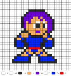 1000 images about Perler Beads Sprites Marvel on