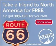 Buy one, get one FREE on North America trips!