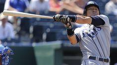 Le vétéran Hideki Matsui a été retranché par les Rays de Tampa Bay, mercredi, pour faire de la place à la recrue Ryan Roberts.
