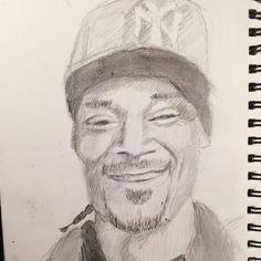 Day 10/30 Snoop Dogg Sketches Of People, Snoop Dogg, Drawing Practice, Art Challenge, Portrait, Men Portrait, Human Sketch, Portrait Illustration, Portraits