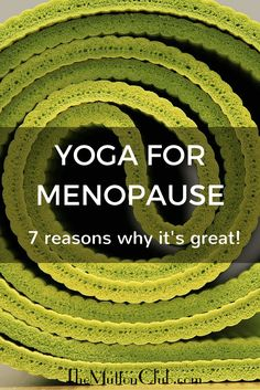 Looking for a natural remedy for hot flushes and achy joints? Yoga for menopause is probably the answer. Here's why it's great to try yoga for symptoms of menopause.