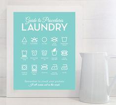 Guide to Procedures: Laundry Retro Mid Century Laundry
