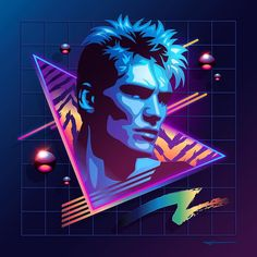 """Neowave :: Dolph. First of several pieces in my #Neowave series. Stay tuned for more."""