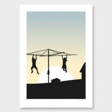 Bringing in the Washing Art Print by Glenn Jones Art Prints, Graphic Poster, Maori Art, Graphic Design, Art, Pictures, Kids Art Prints, Kids Prints, Nz Art