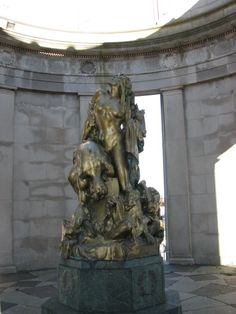 """Liberty In Distress"" - World War I Memorial in Atlantic City, New Jersey by Frederick William MacMonnies"