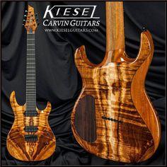 Kiesel Guitars Carvin Guitars  Koa Kiesel Edition K7H