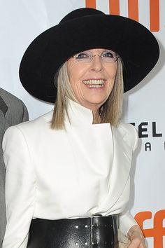 How Diane Keaton Taught Us That Conventional Beauty Is Bullshit  #refinery29  http://www.refinery29.com/2017/01/134175/diane-keaton-annie-hall-beauty-standards-feminism#slide-6  There's our gal, making a giant belt that could have been pirate-esque feel chic. Okay, it is a little swashbuckle-y, especially with that hat. But I can say with all seriousness that Diane Keaton is the only woman in the world who makes this look work. And for that reason — among myriad others — she's my icon. ...