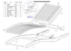PDF Wooden deck lounger plans DIY Free Plans Download