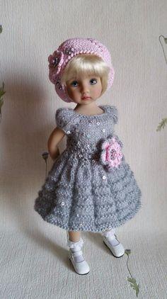 "Outfit ""Grey&Pink"" for dolls 13"" Dianna Effner Little Darling. | eBay"