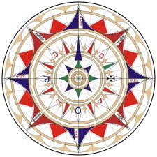 FROM THE HEART WITH GINI RIFKIN: THE ORIGIN OF THE COMPASS ROSE