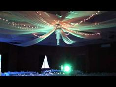 Wedding Decorations - Ceiling Drapes - by Party & Wedding Design