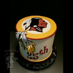 #redskins #cake #artyoucaneat #edibleart #rvacakes #birthday #sports #football #boybirthday #manly #mancakes