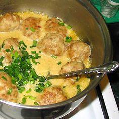 Pulpety w sosie musztardowym.: Doskonałe klopsiki w aromatycznym sosie, najczęściej podaję je z ziemniakami,...