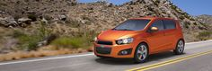 Chevrolet Sonic Hatchback -   Highest ranked vehicle appeal among sub-compact cars.