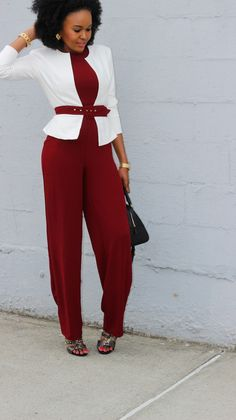 stylediarybyosy: LinkPartyWithOsy + One Jumpsuit: Two Ways - Blazer Style