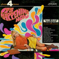 Ronnie Aldrich and his Two Pianos with the London Festival Orchestra - It's Happening Now (1969)