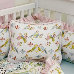 Adorable Bird Bedding For A Little Baby S Nursery Love And Need