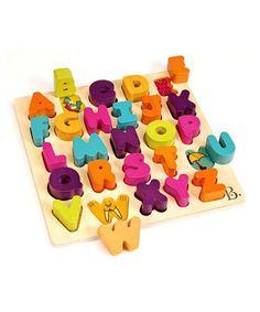 Look at this #zulilyfind! Alpha B Tical Puzzle by B. Toys #zulilyfinds
