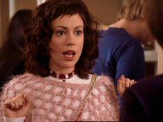 Love Alyssa Milano's hair on Charmed as Phoebe Halliwell