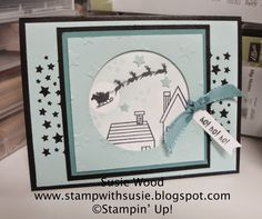 Stamp with Susie: A CUTE 'Holiday Home' card!