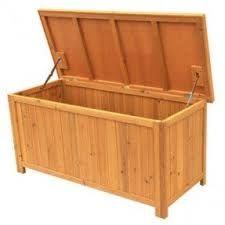 Bilderesultat for storage firewood box bench