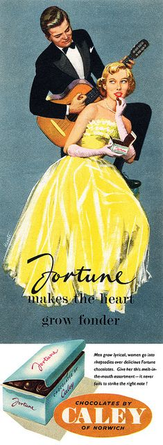 All sizes | Caley Fortune Chocolates advertisement. | Flickr - Photo Sharing!