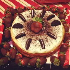 Oreo cheesecake. Yummm
