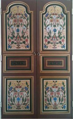 #Moroccan Door  #www.margaretpetchellartist .com #interiors #interiors bloggers,# interiors addict #painted door Interior S, Aesthetics, My Arts, Artist, Painting, Furniture, Home Decor, Decoration Home, Painting Art