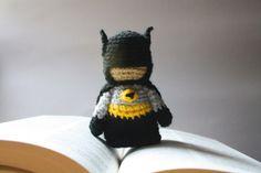 Batman Amigurumi by BramaCrochet on Etsy