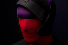 "creatively different mask: ""Strumpfkopf"" 1 (""sock head"") by 2009 Robert G Bartholot.net"