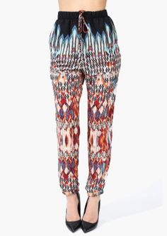 Necessary Clothing Boho Harem Pants