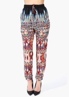 Necessary Clothing Boho Harem Pants