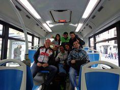 Txabi, Olga, Rafa, Monica, Marcela y Nicolás.