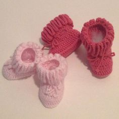 Looking for your next project? You're going to love Crochet Ruffle Baby Booties Pattern by designer leticiatpa. - via @Craftsy