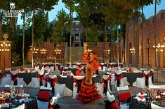 Linares Terrace Flamenco Theme with Dancer