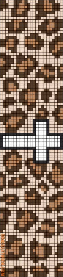 Rotated Alpha Pattern added by christalxo Seed Bead Patterns, Peyote Patterns, Beading Patterns, Loom Animals, Mochila Crochet, Bead Loom Bracelets, Alpha Patterns, Beaded Cross Stitch, Tapestry Crochet
