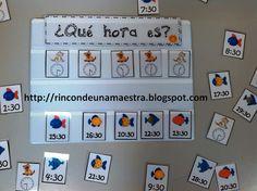 Rincón de una maestra: La hora y media