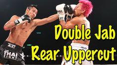 Double Jab to Rear Uppercut Combination - Muay Thai Technique Muay Thai Techniques, Boxing Techniques, Martial Arts Techniques, Boxer Workout, Kickboxing Workout, Boxing Fight, Boxing Boxing, Muay Thai Workouts, Boxing Basics