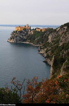 The Passeggiata Rilke is arguably one of Italy's prettiest walks, a cliffside path with incredible views over the Sistiana bay.