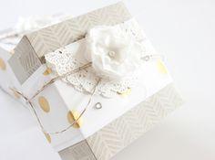 Elegante Geschenkbox in 5 Minuten (inkl. Video)