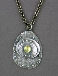 Mirinda Kossoff - fine silver, peridot