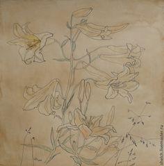 картина лилии графика лилия ретро стиль лилии графика рисунок лилии цветы лилии на заказ рисунок на заказ лилии картина лилии на заказ графика под старину лилии старинный рисунок лилии картина цветы